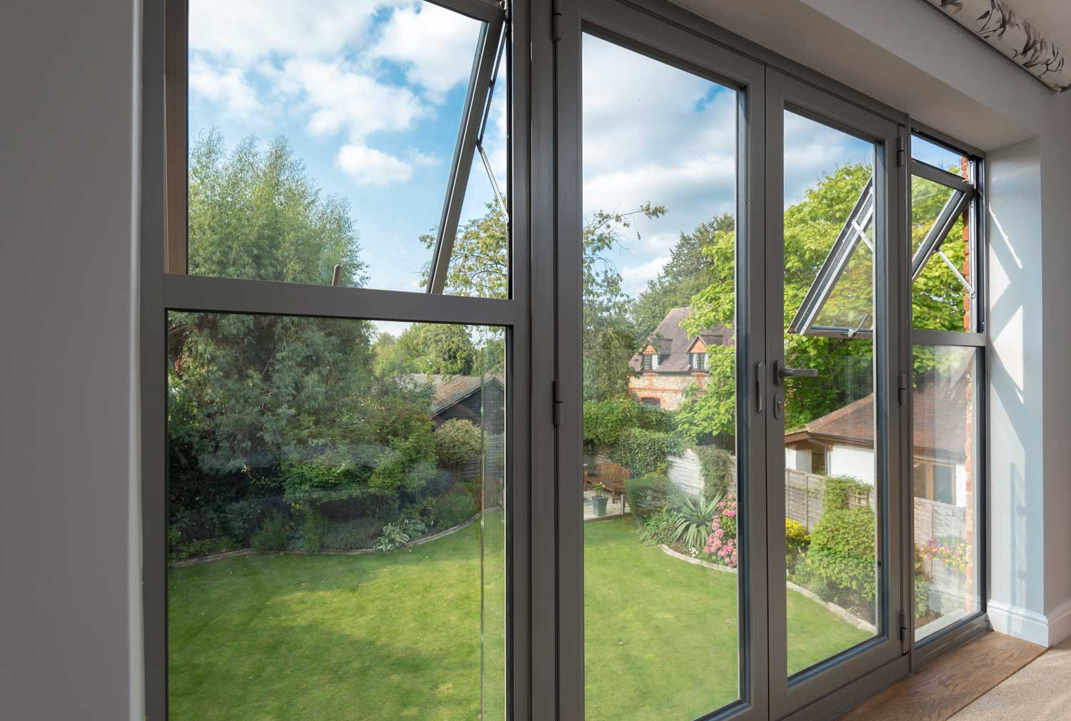 Aluminium Flush Casement Windows Reading