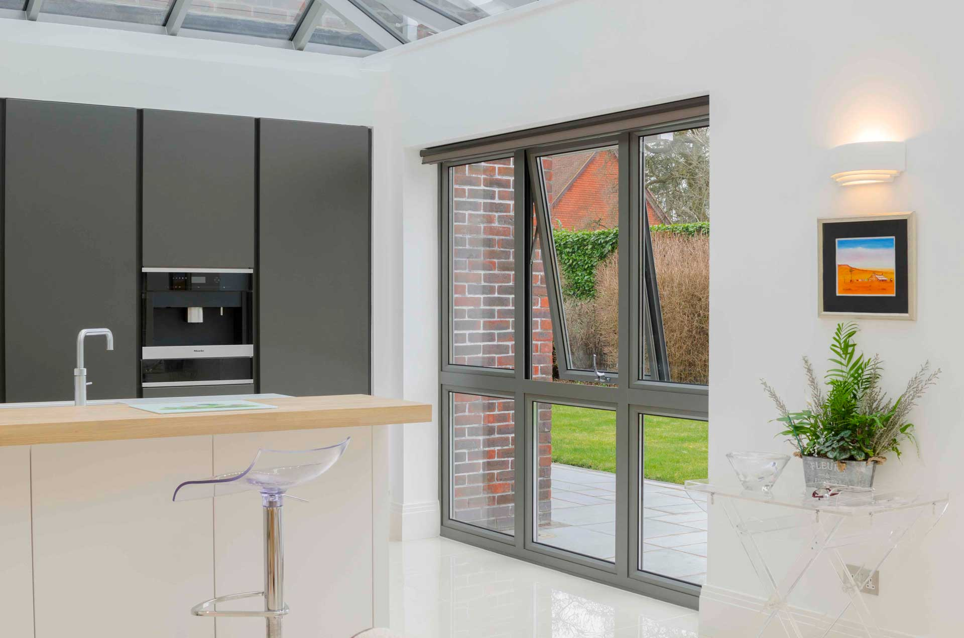 Aluminium flush Casement Windows cost reading